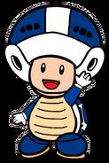 2D Boomerang Blue Toad
