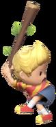 1.8.Lucas preparing to swing his stick