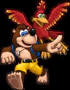 SSF2 Banjo & Kazooie