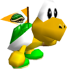 STROOP- Koopa the Quick with Flag