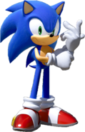 Team Sonic Racing Sonic No Car