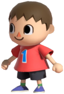 0.1.Red Villager Standing