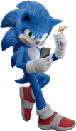 Sonic (alt) - Sonic the Hedgehog (Movie)