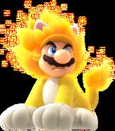 SM3DWBF Giga Cat Mario Art