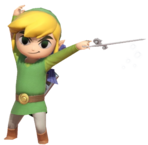 1.13.Toon Link Posing with the Wind Waker