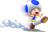 Toad Running Artwork (alt) - Super Mario 3D World