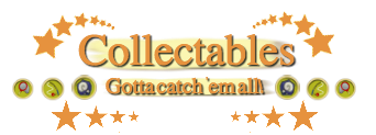 Animal Crossing: Fresh Air/List of Collectables
