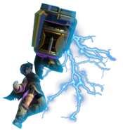 0.12.Dark Pit Striking with his Electroshock Arm