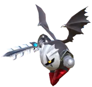 3.7.Dark Meta Knight flying