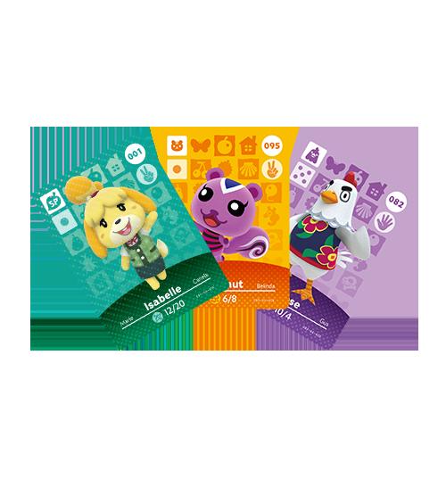 Amiibo/Animal Crossing Cards