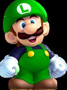 Old school Luigi