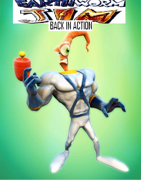 Earthworm Jim: Back in Action