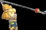 0.12.Isabelle reeling back her Fishing Rod