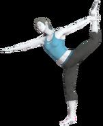 0.9.Female Wii Fit Trainer's Dancer Pose