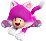 Cat Toadette New