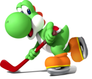 Yoshi skating