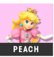 Character-peach