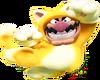 Cat Wario Artwork - Super Mario Crystalline World