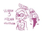 Meena (Splatoon 3) - By Tigz