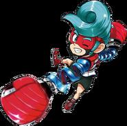 Chibi Spring Man ARMS Manga