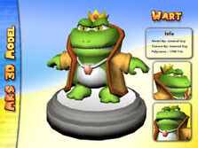 King Wart Mario Advance