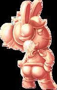 Pink Gold Rabbid Peach