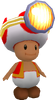 SMG Asset Model Toad Brigade (Captain Toad)