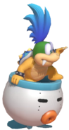 0.1.Larry Koopa in his Clown Car