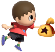 0.5.Red Villager Holding a Bell