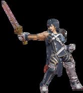 3.12.Chrom Holding his sword forward
