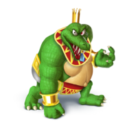King k rool super sluggers outfit by decatilde