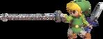 1.8.Toon Link using his Hookshot