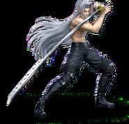 SSBU Sephiroth (shirtless)