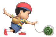 0.8.Ness preparing his Yo-Yo