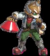 1.4.Fox holding a Smart Bomb