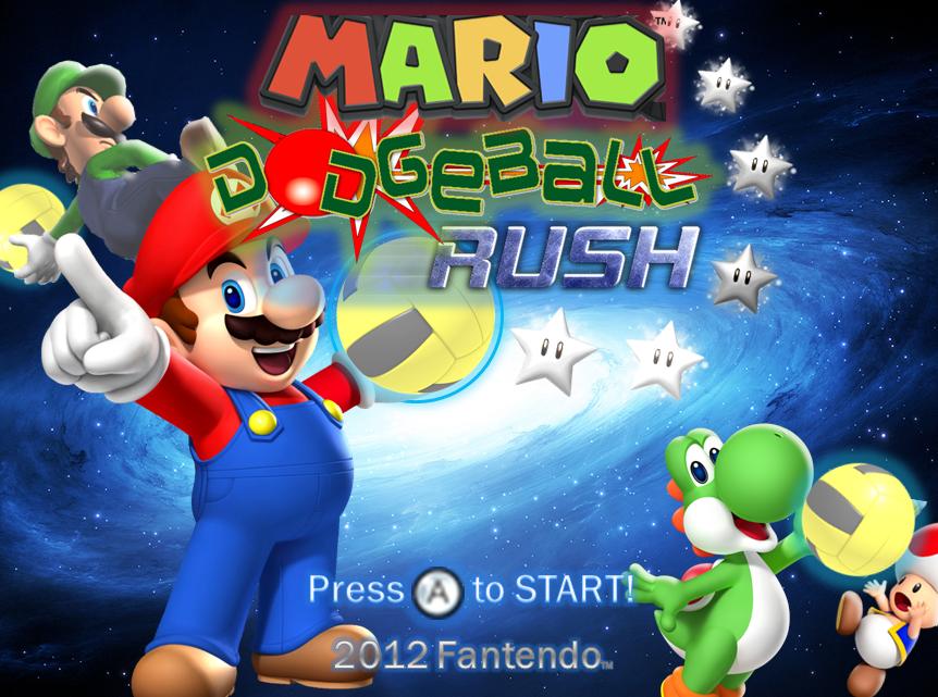 Mario Dodgeball Rush