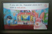 Arcade bunny speaks the truth