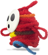 Yarn Shy Guy run YWW