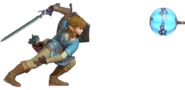 1.2.Champion Link throwing a Remote Bomb