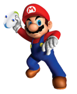 Mario playing Rugby