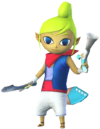0.2.Tetra Standing with her Weapons