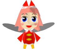 Nintendo 64 - Kirby 64 The Crystal Shards - Ribbon (Low-Poly)