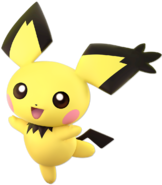 Pichu SpikyEarAlt Ultimate