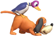 0.5.Duck Hunt Dog sniffing the Ground