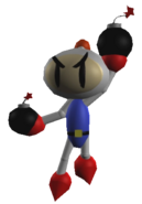 Bomberman render by Ice97 Transparent