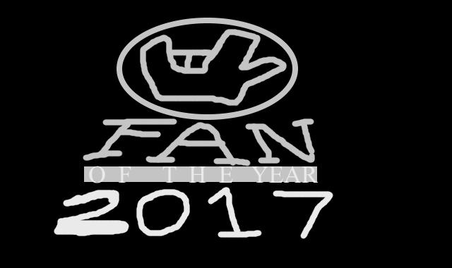 FAN OF THE YEAR 2017