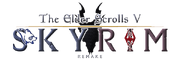 The Elder Scrolls V Skyrim Remake Logo.png