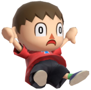 0.11.Red Villager Falling