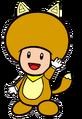2D Kitsune Yellow Toad