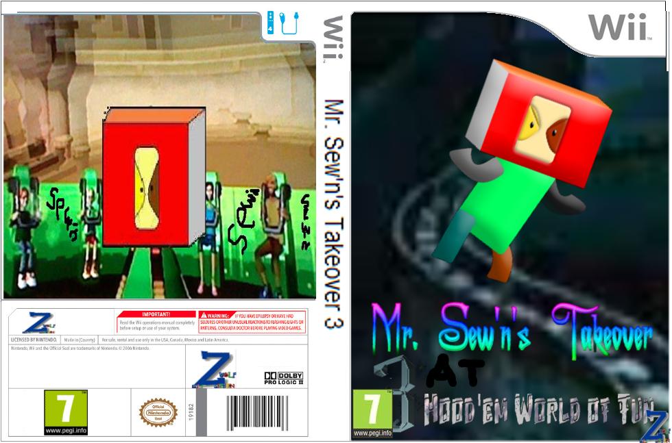 Mr. Sew'n's Takeover 3
